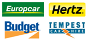 Car rental supplier logos